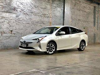 2018 Toyota Prius ZVW50R I-Tech White 1 Speed Constant Variable Liftback Hybrid.