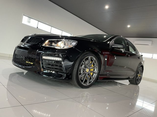 Used Holden Special Vehicles GTS Gen-F2 MY16 Bundaberg, 2016 Holden Special Vehicles GTS Gen-F2 MY16 Black 6 Speed Sports Automatic Sedan