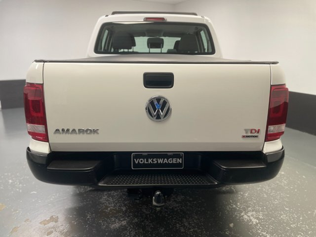 Used Volkswagen Amarok 2H MY17 TDI420 4MOTION Perm Core Raymond Terrace, 2017 Volkswagen Amarok 2H MY17 TDI420 4MOTION Perm Core Candy White 8 Speed Automatic Utility