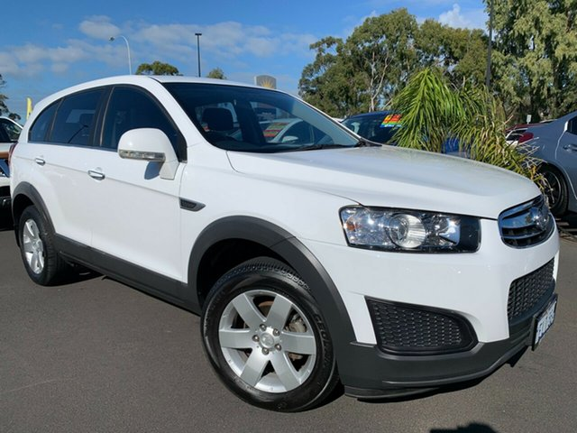 Used Holden Captiva CG MY14 7 LS Bunbury, 2014 Holden Captiva CG MY14 7 LS White 6 Speed Sports Automatic Wagon