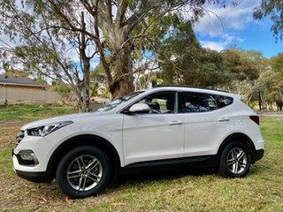 2018 Hyundai Santa Fe DM5 MY18 Active Pure White 6 Speed Sports Automatic Wagon