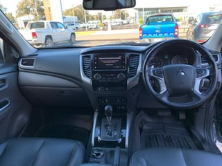 2018 Mitsubishi Triton MQ MY18 Exceed Double Cab Silver 5 Speed Sports Automatic Utility