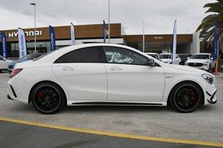 2018 Mercedes-Benz CLA-Class C117 809MY CLA45 AMG SPEEDSHIFT DCT 4MATIC White 7 Speed.