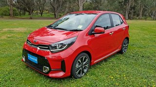 2021 Kia Picanto JA MY21 GT-Line Signal Red 4 Speed Automatic Hatchback