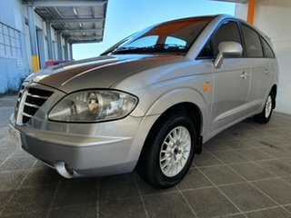 2006 Ssangyong Stavic A100 Sports Plus Silver 5 Speed Sports Automatic Wagon