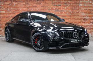 2021 Mercedes-Benz C-Class C205 801MY C63 AMG SPEEDSHIFT MCT S Obsidian Black 9 Speed.