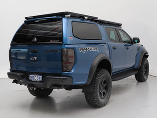 2020 Ford Ranger PX MkIII MY20.25 Raptor 2.0 (4x4) Blue 10 Speed Automatic Double Cab Pick Up