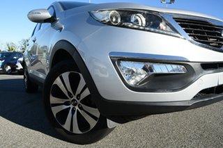 2013 Kia Sportage SL MY13 Platinum Silver 6 Speed Sports Automatic Wagon.