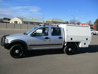 2005 Holden Rodeo RA MY05.5 LX Crew Cab Silver 4 Speed Automatic Utility.