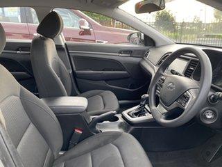 2018 Hyundai Elantra AD MY18 Active Silver 6 Speed Sports Automatic Sedan.