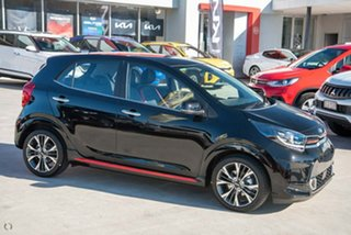 2021 Kia Picanto JA MY21 GT-Line Black 4 Speed Automatic Hatchback