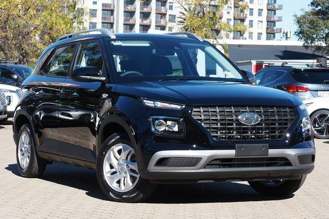 New Hyundai Venue QX.V3 MY21 Burnie, 2021 Hyundai Venue QX.V3 MY21 Phantom Black 6 Speed Automatic Wagon