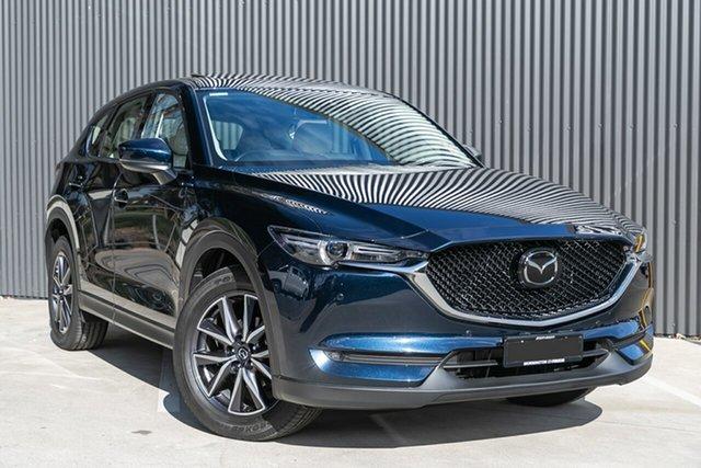 Demo Mazda CX-5 KF4WLA GT SKYACTIV-Drive i-ACTIV AWD Mornington, 2020 Mazda CX-5 KF4WLA GT SKYACTIV-Drive i-ACTIV AWD Deep Crystal Blue 6 Speed Sports Automatic