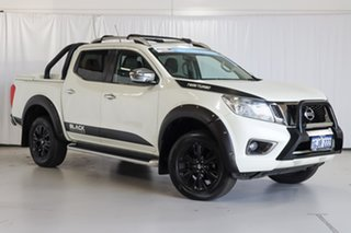 2017 Nissan Navara D23 S2 ST-X N-SPORT Black Edition White 7 Speed Sports Automatic Utility.
