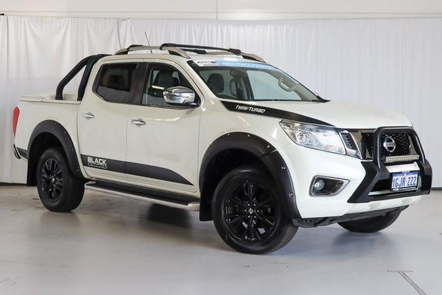Used Nissan Navara D23 S2 ST-X N-SPORT Black Edition Wangara, 2017 Nissan Navara D23 S2 ST-X N-SPORT Black Edition White 7 Speed Sports Automatic Utility