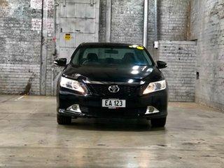 2012 Toyota Aurion GSV50R Touring Black 6 Speed Sports Automatic Sedan.