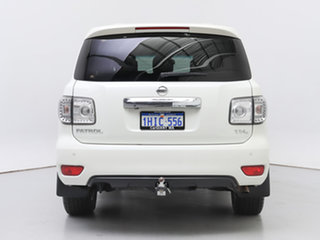 2016 Nissan Patrol Y62 Series 3 TI-L (4x4) White 7 Speed Automatic Wagon