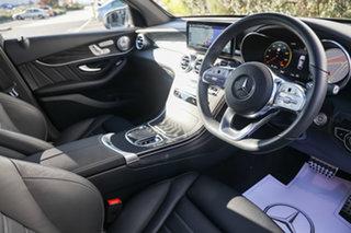 2020 Mercedes-Benz GLC-Class C253 800+050MY GLC300 Coupe 9G-Tronic 4MATIC Iridium Silver 9 Speed.