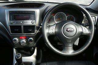 2009 Subaru Impreza G3 MY09 RS AWD Black 5 Speed Manual Hatchback