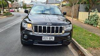 2012 Jeep Grand Cherokee WK MY13 Limited (4x4) Black & Chrome 5 Speed Automatic Wagon