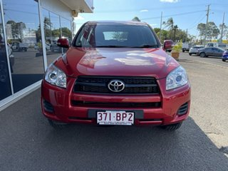 2010 Toyota RAV4 ACA38R MY09 CV 4x2 Red 4 Speed Automatic Wagon