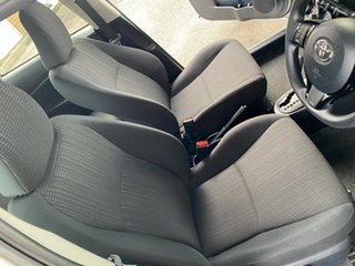 2017 Toyota Yaris Ascent Silver Automatic Hatchback