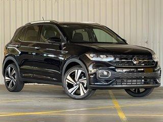 2021 Volkswagen T-Cross C1 MY21 85TSI DSG FWD Style Black 7 Speed Sports Automatic Dual Clutch Wagon.
