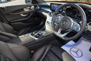 2019 Mercedes-Benz C-Class W205 809MY C300 9G-Tronic Designo Hyacinth Red 9 Speed Sports Automatic.