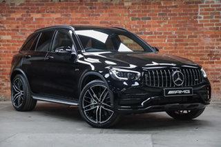 2021 Mercedes-Benz GLC-Class X253 801MY GLC43 AMG SPEEDSHIFT TCT 4MATIC Obsidian Black 9 Speed.