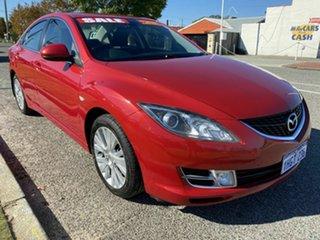 2009 Mazda 6 GH Classic Red 5 Speed Auto Activematic Sedan