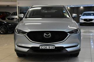 2021 Mazda CX-5 KF2W7A Maxx SKYACTIV-Drive FWD Sport Silver 6 Speed Sports Automatic Wagon.