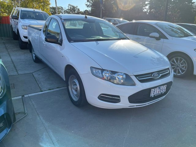 Used Ford Falcon FG MkII EcoLPi Ute Super Cab Berwick, 2014 Ford Falcon FG MkII EcoLPi Ute Super Cab White 6 Speed Sports Automatic Utility