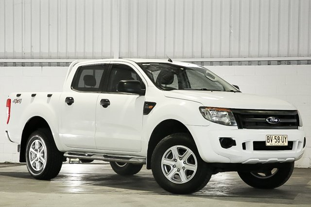 Used Ford Ranger PX XL West Gosford, 2013 Ford Ranger PX XL White 6 Speed Manual Utility