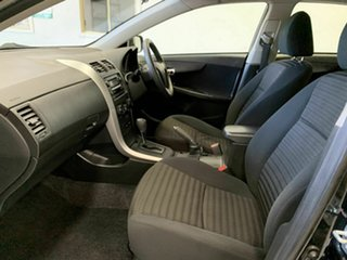 2010 Toyota Corolla ZRE152R MY10 Ascent Black 4 Speed Automatic Sedan