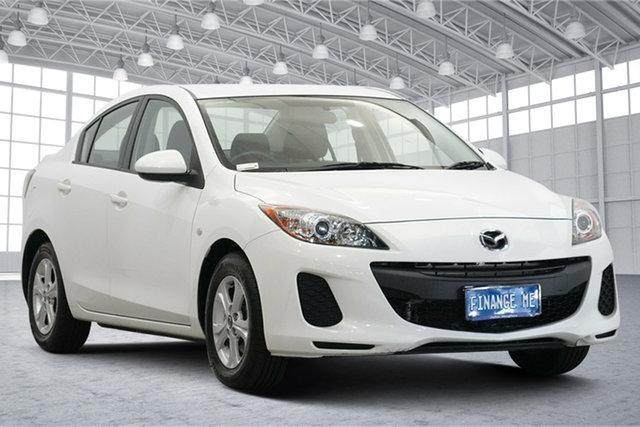 Used Mazda 3 BL10F2 MY13 Neo Activematic Victoria Park, 2013 Mazda 3 BL10F2 MY13 Neo Activematic White 5 Speed Sports Automatic Sedan