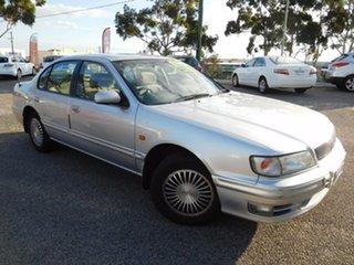 1998 Nissan Maxima A32 S3 30G Silver 4 Speed Automatic Sedan.