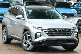 2021 Hyundai Tucson NX4.V1 MY22 Highlander 2WD Shimmering Silver 6 Speed Automatic Wagon.
