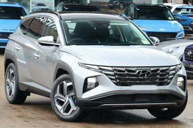 New Hyundai Tucson NX4.V1 MY22 Highlander 2WD Berri, 2021 Hyundai Tucson NX4.V1 MY22 Highlander 2WD Shimmering Silver 6 Speed Automatic Wagon