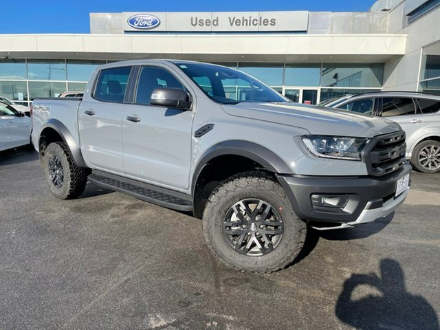 Used Ford Ranger PX MkIII 2020.25MY Raptor Essendon Fields, 2020 Ford Ranger PX MkIII 2020.25MY Raptor Grey 10 Speed Sports Automatic Double Cab Pick Up