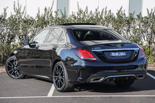 2020 Mercedes-Benz C-Class W205 801MY C300 9G-Tronic e Obsidian Black 9 Speed Sports Automatic Sedan.