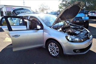2010 Volkswagen Golf VI MY10 118TSI DSG Comfortline Silver 7 Speed Sports Automatic Dual Clutch