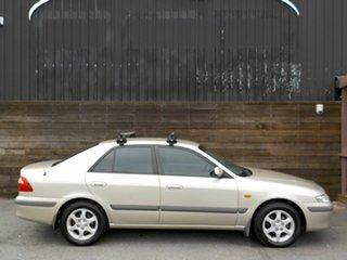 2001 Mazda 626 GF Classic Gold 4 Speed Automatic Sedan.