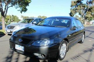 2007 Ford Falcon BF Mk II XT Grey 4 Speed Sports Automatic Sedan.