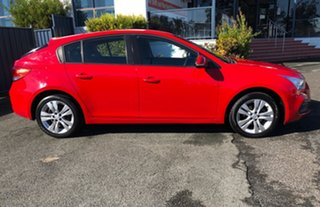 2014 Holden Cruze JH Series II MY14 Equipe Red 6 Speed Sports Automatic Hatchback.