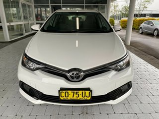 2018 Toyota Corolla ZRE182R MY17 Ascent White 7 Speed Constant Variable Hatchback.
