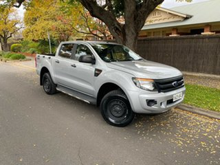 2013 Ford Ranger PX XL Silver 6 Speed Manual Utility.