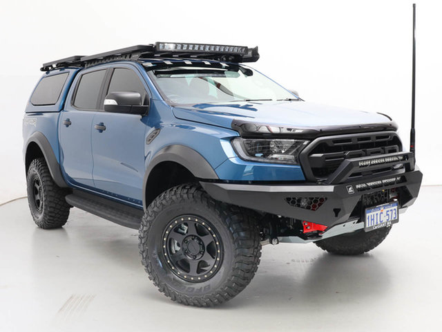 Used Ford Ranger PX MkIII MY20.25 Raptor 2.0 (4x4), 2020 Ford Ranger PX MkIII MY20.25 Raptor 2.0 (4x4) Blue 10 Speed Automatic Double Cab Pick Up