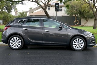 2012 Opel Astra AS Select Grey 6 Speed Sports Automatic Hatchback