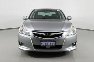 2010 Subaru Liberty MY10 2.5I Premium Silver Continuous Variable Sedan.