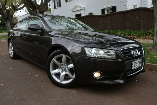 Used Audi A5 8T MY12 Sportback S Tronic Quattro Prospect, 2012 Audi A5 8T MY12 Sportback S Tronic Quattro Grey 7 Speed Sports Automatic Dual Clutch Hatchback